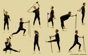 esercizi con bastone