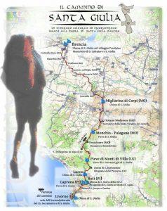 Il Cammino di Santa Giulia - inaugurazione e convegno nel paese di Buti