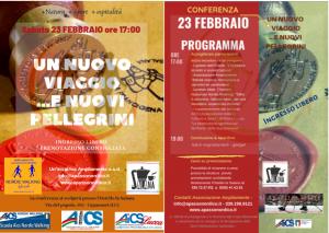 Locandina e programma evento 23 febbraio
