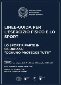 linee guida sport